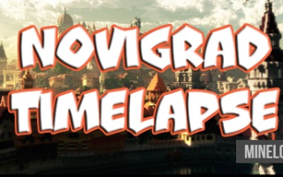 Карта Novigrad TIMELAPSE для Майнкрафт 1.12.2, 1.13