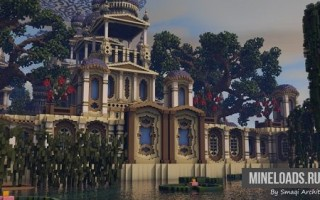 Карта Замок Eudémonia для Minecraft 1.12.2