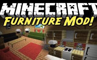 Мод Мебель (Furniture) для Майнкрафт 1.11.2