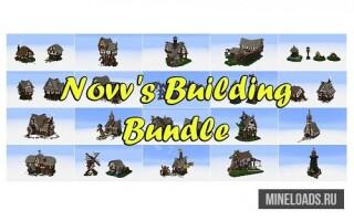 Карта Novv's Building Bundle для Майнкрафт 1.12.2, 1.13