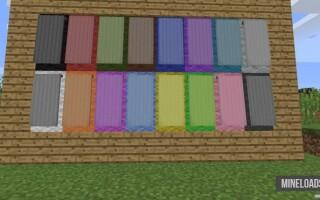 Мод Additional Banners для Майнкрафт 1.13.2